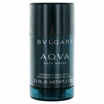 Homme Deodorant Stick Alcohol - AQVA Pour Homme Men by Bvlgari Alcohol Free Deodorant Stick 2.7 oz - New & Fresh