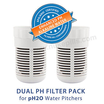 Replacement Alkaline Filter for Seychelle pH2O Pure Water Pi