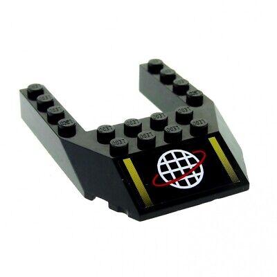 LEGO Black 6x8 Cut Out Alpha Team Wedge Part