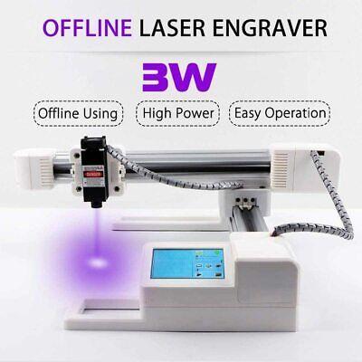 3w Usb Cnc Laser Engraving Machine Mini Desktop Laser Engraver Printer Marking