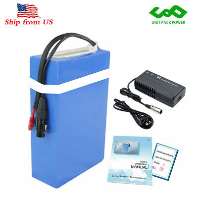 Li-ion 48V20Ah Battery Pack Waterproof PVC for 750W 1000W Electric Scooter Ebike