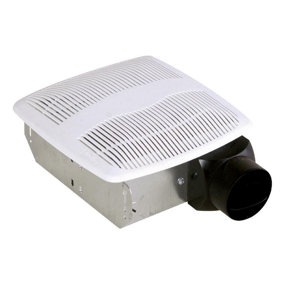 50 CFM Bathroom Exhaust Fan Ceiling Mounted Bath Ventilation Vent Wall Mount