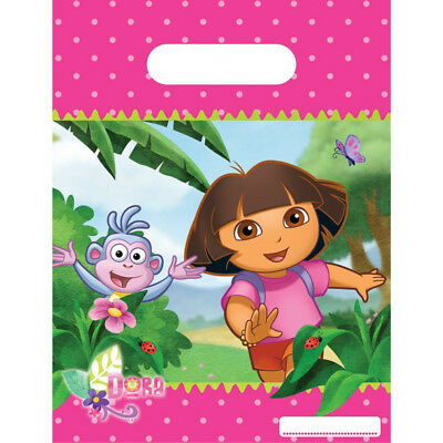 Party Dora The Explorer Themed Loot Bag Lunch Bags Gift (Dora The Explorer Birthday)