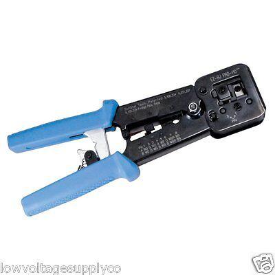 Platinum Tools EZ-RJPRO® HD Crimp Tool Cat5e Cat6 Ethernet 100054c - NEW