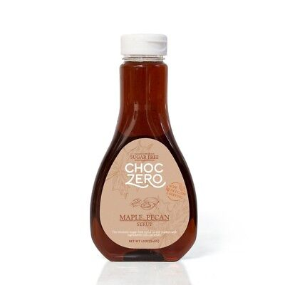 Pecans Maple Syrup - ChocZero's Maple Pecan Sugar-Free Syrup - Low Carb (1 Gram ... - FREE 2 day Ship