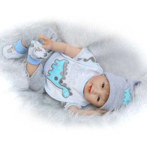 "Reborn Baby Doll baby dolls Vinyl Silicone 22"" Handmade Lifelike Newborn"
