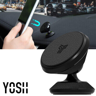 YOSH 360° Car Dash Magnetic Mount Phone Holder Stand For iPhone 6 7 8P X XS MAX