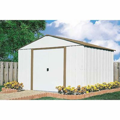 10 x 10 Storage Shed Outdoor Backyard Metal Storage Garage Tools Mower