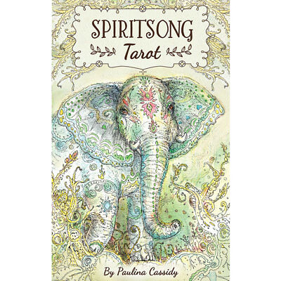 """Spiritsong Tarot NEW Deck and Book Set by Paulina Cassidy (2017) 3x5"""" Cards"""