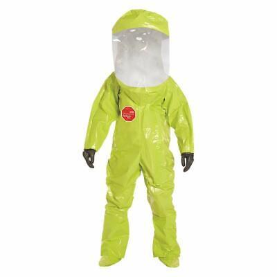 Dupont Tychem Procedures Encapsulated Hazmat Protect Training Suit 2xl Wbag