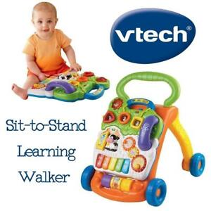 NEW VTech Sit-to-Stand Learning Walker (Frustration Free Packaging - English Version) Condtion: New