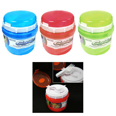 Insulated Food Container Thermo Jar Mug Travel Lunch Box Warmer Cooler Kid - Insulated Food Jar
