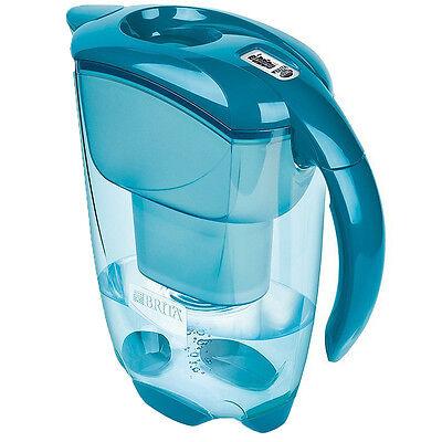 Genuine New Brita Elemaris 2.4 L Water Filter Jug - Teal (1013757)