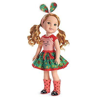 American Girl Doll Welliewishers Willa 14.5 Inch Girts Toy Birthday Gift Present