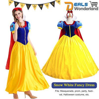 Schneewittchen Cosplay Kostüm Damen Märchen Prinzessin Kostüm mit / Petticoat - Prinzessin Kostüm Cosplay