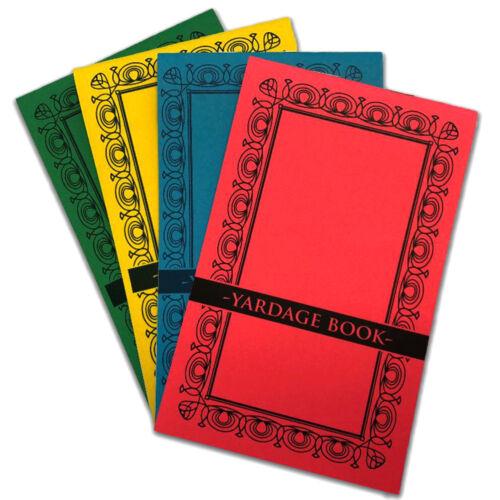 4 GOLF YARDAGE BOOKS - 2019 USGA Conforming