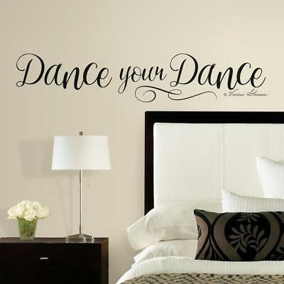 Greyhound Home Decor DANCE YOUR DANCE Inspiration Vinyl Wall Decal Wall Quote Lettering Art Sticker Home Decoration Accessories Ltd