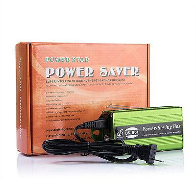 90-250V Power Energy Saver Saving Box Electricity Bill Killer Up to 35% 24KW USA