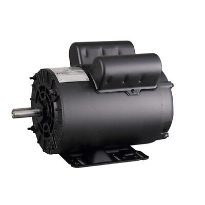 3 Hp Electric Motor Compressor Duty 56 Frame 1 Phase 58 Shaft 230v 3450 Rpm