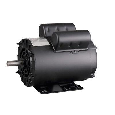 3 Hp Electric Motor Compressor Duty 56 Frame 1 Phase 58 Shaft 230v 3450 Rpm