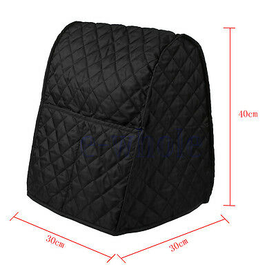 Home Kitchen Food Dust Cover Clean Black For KitchenAid Mixer Cover GL