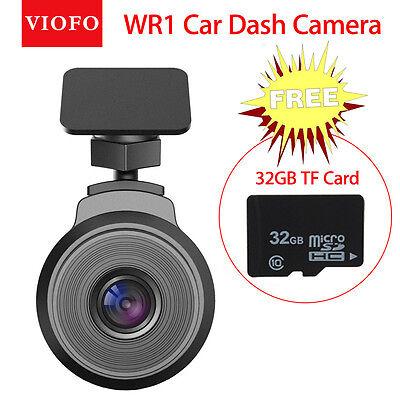 VIOFO WR1 Capacitor Car Dash Cam 1080P Wifi DVR Camera+32GB Card Loop Recording