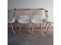 DUET dining chairs by CUKOON (set of four)