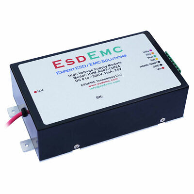 0 To -30kv Adjustable 1ma 24v High Voltage Dc-dc Power Supply Modules