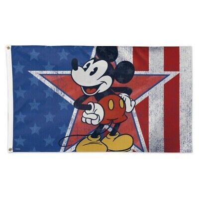 mickey mouse americana disney 3 x5 deluxe