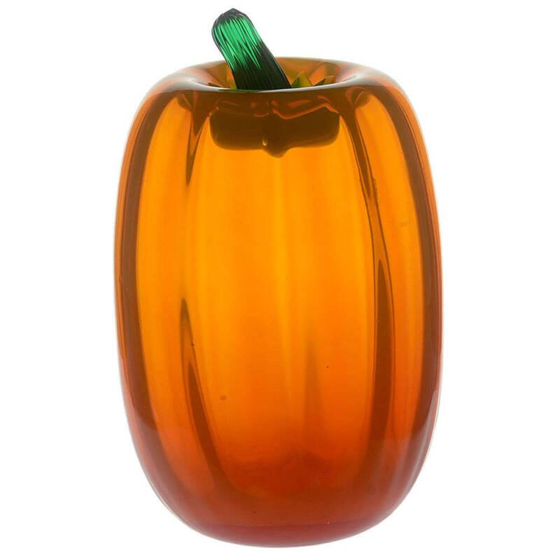 """Blenko Blenko Fruits & Vegetables #6618 7""""-8"""" Tall Pumpkin 11577312"""
