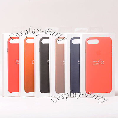 Genuine Original Apple Leather Snap Cover Case For iPhone 7 Plus / iPhone 8 Plus ()