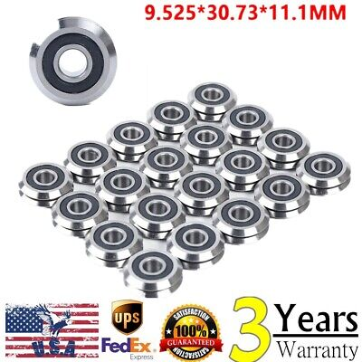 20pcs W2ssx V V Groove Sealed Ball Vgroove Bearing 38 9.52530.7311.1mm