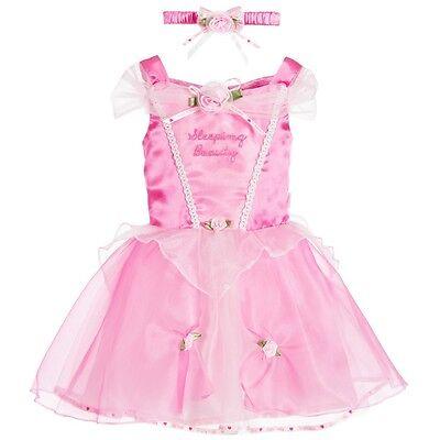 Offiziell Baby Kleinkind Disney Boutique Dornröschen Pink Prinzessinnenkleid - ()