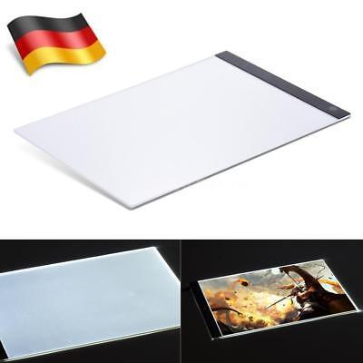 Schablone Board (A3 A4 Zeichnung Pad Tisch Schablone LED Tracing Licht Box Board Art Tattoo H6Z4)