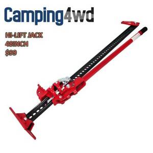 NEW! Hi Lift High Farm Jack 48 inch With Jack Base Heavy Duty 4WD