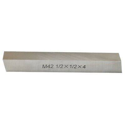 M42 Cobalt Steel Square Lathe Tool Bits Milling Fly Cutter 12 X 12 X 4