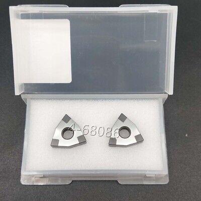 Wnmg431 Cbn Wnmg080404 Cbn Hardened Steel Insert Made Of Boron Nitride Wnmg