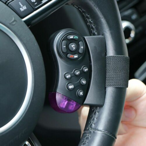 Universal Car Steering Wheel Remote Control Switch Vehicle Bluetooth