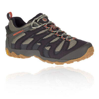 Merrell Mens Chameleon 7 Walking Shoes Brown Grey Sports Outdoors Breathable