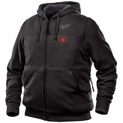 Milwaukee FUEL M12 302B-21M 12-Volt Heated Hoodie Kit - Large, Black