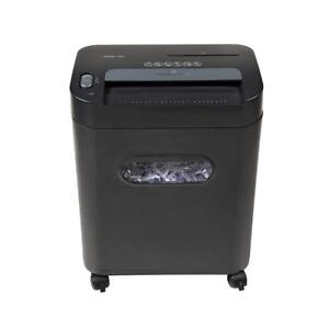 NEW Royal ROY29186X 112MX 12-Sheet Cross Cut Shredder Shreds CD's with Console (Black) Condition: New