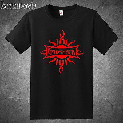 Godsmack Metal Rock Band Logo Men