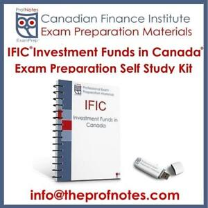 IFIC Investment Funds in Canada Exam Prep Textbooks, Mock Exams for CSI Canadian Securities Institute Exams