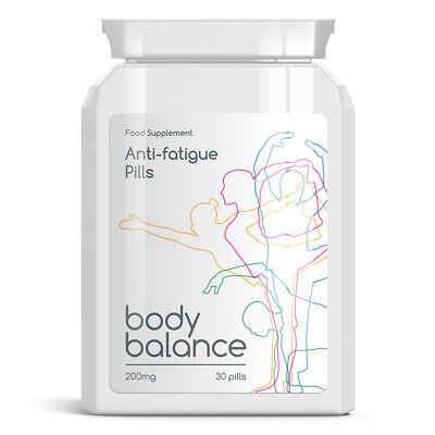 BODY BALANCE ANTI-FATIGUE PILLS TABLETS ANTI TIREDNESS FEEL AWAKE FULL OF ENERGY