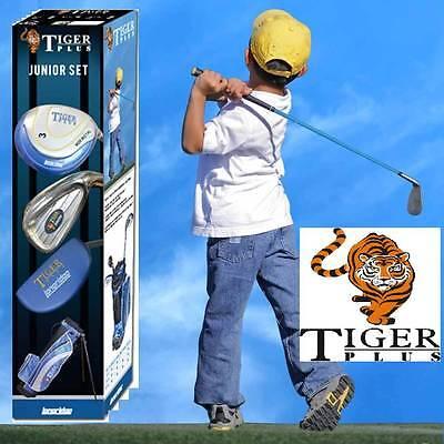 LONGRIDGE Junior Tiger Plus Graphite Golf Package - (4-7) JAHRE RH rechtshand (Junior Golfschläger Graphit)