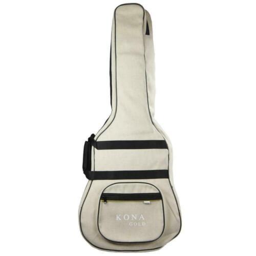 New Kona KGGBDH Deluxe Padded Hemp Gig Bag Case for Acoustic