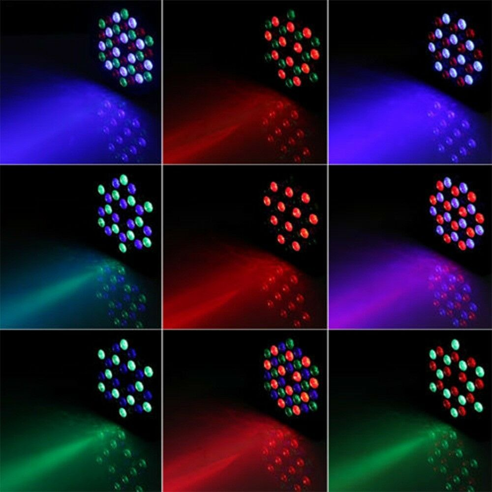 80w 36 leds lights stage lighting can disco rgb dmx512 dj club party