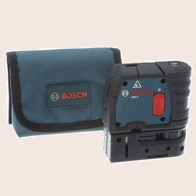 3 Point Laser Level Factory Reconditioned Self Leveling Plumb Bob Align Square