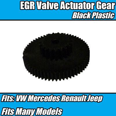 EGR Valve Actuator Gear Repair Black Plastic 7701060686 For Mercedes VW Golf 5