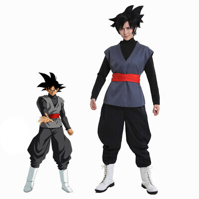 Dragon Ball Son Goku Black Cosplay Costume Fancy Dress Fit Men Boys - Dbz Fancy Dress